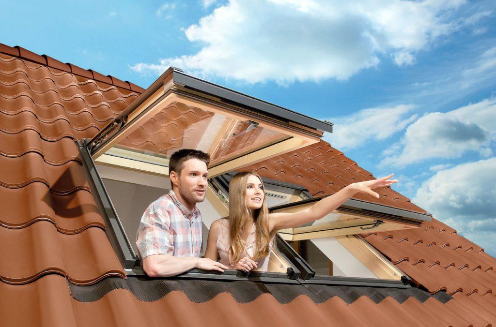 Adaptacja poddasza - okna dachowe